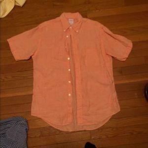 Brooks Brothers 346 Short sleeve Dress Shirt
